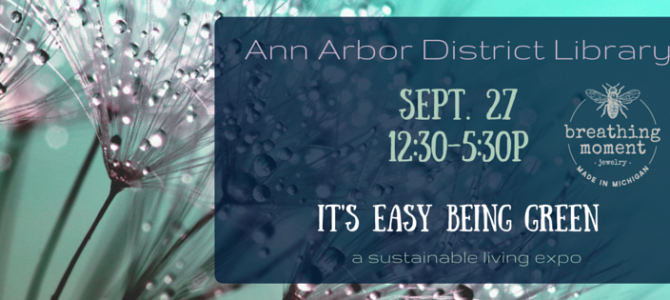 Come See Us in Ann Arbor on Sept 27